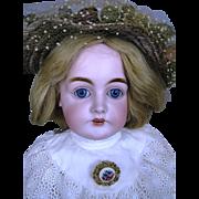 "Antique 23"" Kestner 146 Mold German Bisque Head Doll, Original Body w Original Finish - Red Tag Sale Item"