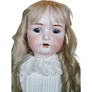 "25"" Antique Kammer Reinhardt Simon Halbig Bisque Head German Doll"