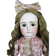 "21"" Early Kestner Closed Mouth Doll ~ Superb German Doll"