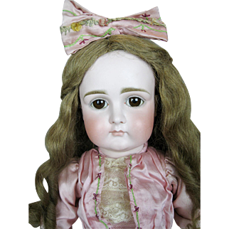 """21"""" Early Kestner Closed Mouth Doll ~ Superb German Doll"""