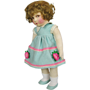 Wonderful Felt and Cloth Raynal French Doll