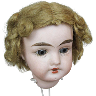 Antique Adorable Curly Mohair Doll Wig ~ Great for Child Fashion Doll