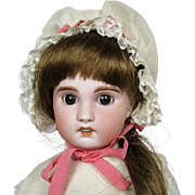 Antique French Bebe 15 inch SFBJ Paris 5 Bisque Head Doll ~ Signed Brevete SGDG Body