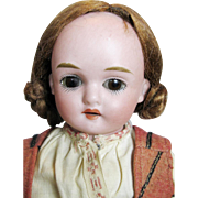 Kling Antique German Bisque Head Doll ~ Original Clothes