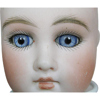 Antique French Face German Sonneberg Belton Type Doll Head