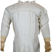 Early 1900s Antique Cotton Doll Dress