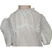 Antique Original Factory Doll Chemise for your Bebe or Doll