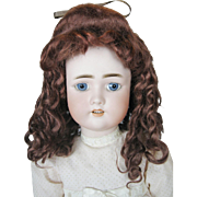 "Antique German 24"" Simon Halbig CM Bergman Bisque Head Doll"