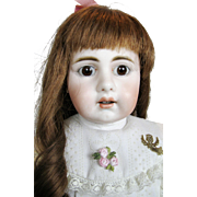 "Rare 15"" Simon Halbig Mold 929 Antique German Bisque Head Doll"