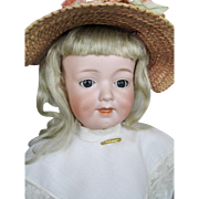 Adorable Antique 16' Armand Marseille 590 Character Toddler Doll