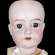"""27"""" Antique German Walkure Bisque Head Doll"""