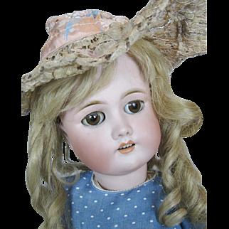 "Antique 23"" CM Bergman Simon Halbig Bisque Head German Doll"