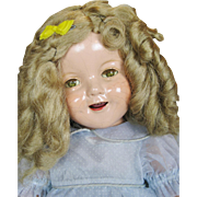 """1930s 21"""" Ideal Shirley Temple Composition Doll"""