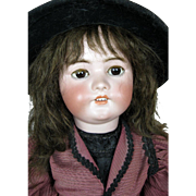 "29"" Simon Halbig German Bisque Head Doll"