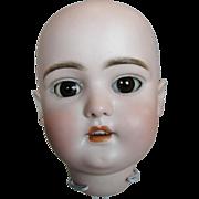 Antique German Bisque Simon Halbig 1079 Bisque Doll Head