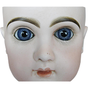 Antique French Jumeau Bebe Bisque Doll Head ~ Closed Mouth