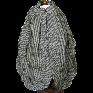 Antique French Fashion Doll Silk Cape