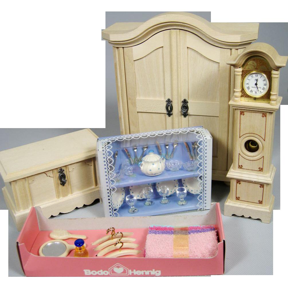Bodo Hennig bodo hennig 1 12 scale dollhouse miniatures lot tag sale item