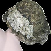 Rare Antique Gold Bullion Metal Thread French Hat ~ Late 18th Century
