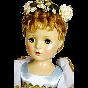 """19"""" Vintage Hard Plastic Ballerina Doll ~ So Lovely"""
