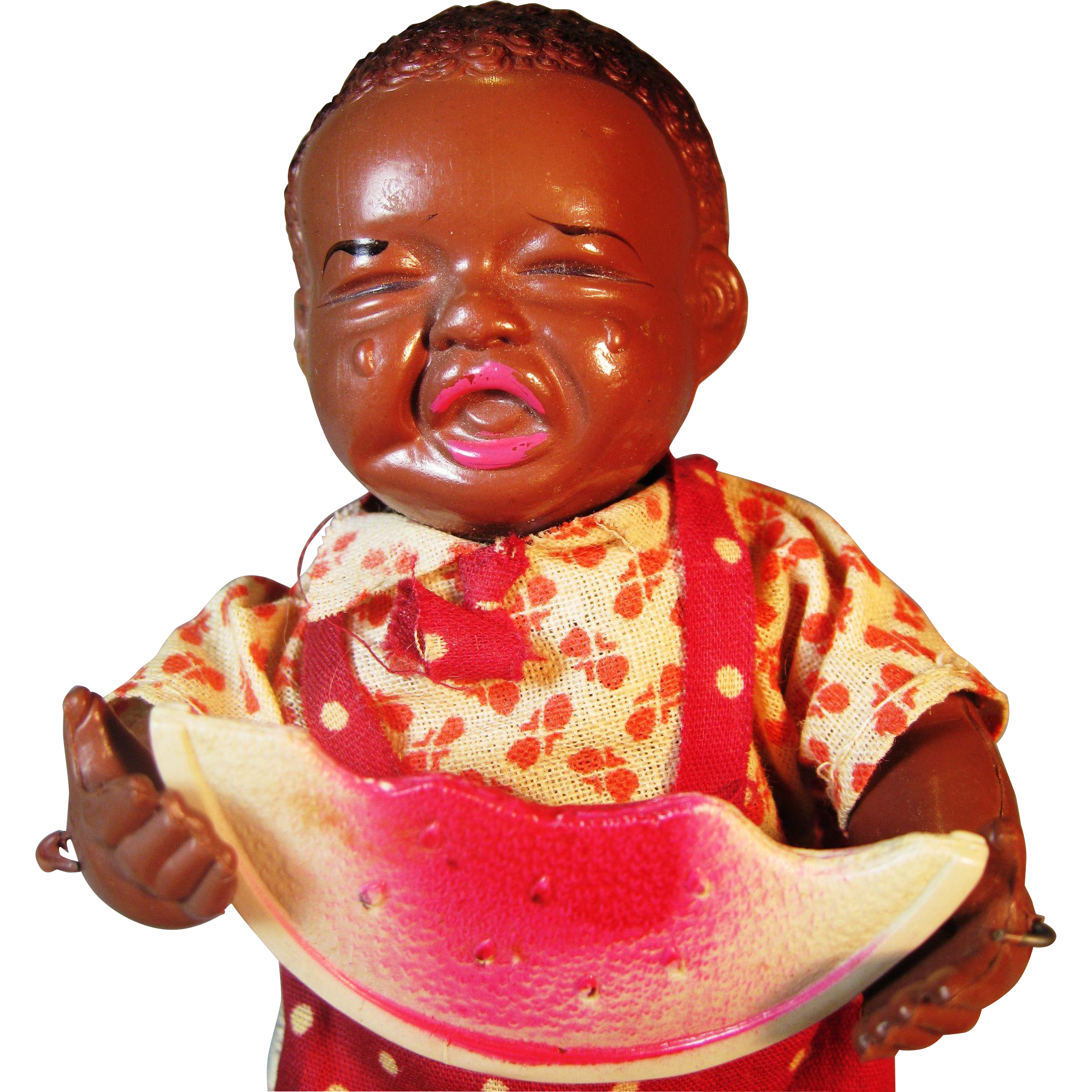 1930s Black Americana Wind Up Figurine Japanese Celluloid