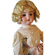 "18"" Simon Halbig Handwerck Antique German Doll ~ All Antique Original Clothing"
