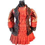 Wonderful Bebe Dress for your Antique French Doll