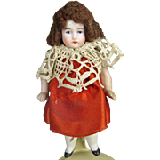 Antique All Bisque German Doll ~ possible Kling A/O