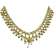 Vintage 22 karat Gold Kurdish Necklace