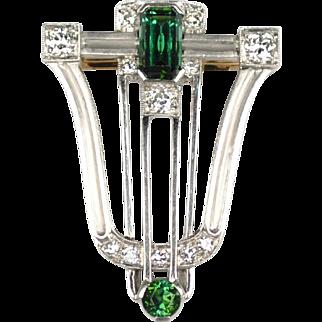 Tiffany and Co. 18kt Art Deco Clip