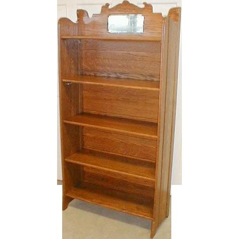 Oak Fold Up Bookcase By Larkin Furniture Company From Rayspassion On Ruby Lane