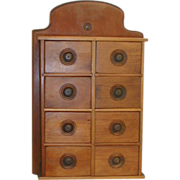 Spice Cabinet with 8 Drawers