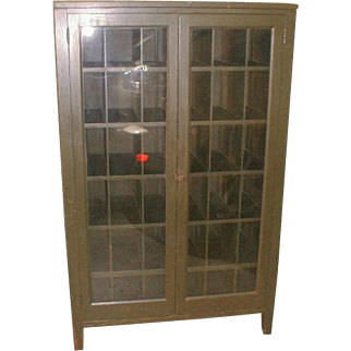 Storage Cabinet  Wine Rack with 2 Glass Doors and 36 Cubby Holes