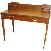Oak Arts and Craft Desk