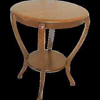 Victorian Oak Side Table