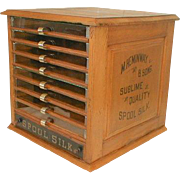 Heminway and Sons 9 Drawer Spool Silk Cabinet