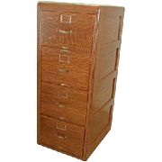 Oak File Cabinet Legal Size 4 Drawer