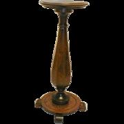 Early 20th Century Oak Pedestal