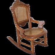 Childs Victorian Rocking Chair