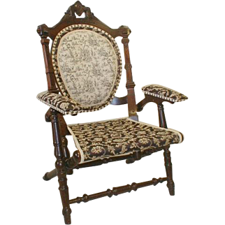 Victorian Fold Up Chair by Hunzinger