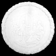 Fenton Bicentennial Plate - Milk Glass