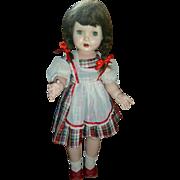 """28"""" Rita Paris Hard Plastic 1950's doll"""