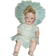 "16"" Sweet Shirley Temple baby original"