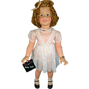 "Ideal Shirley Temple Playpal 35"" doll 1950's"