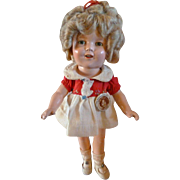 """13"""" Shirley Temple in RARE Duck Dress"""