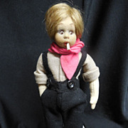 Lenci Mascotte Character Boy
