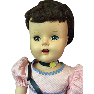 "Unusual ""LuAnn Simms"" walking Doll"