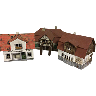 Large 3pc. German Village