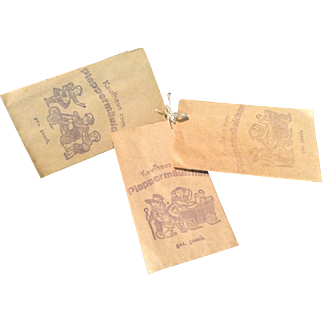 Miniature Country Store Bags