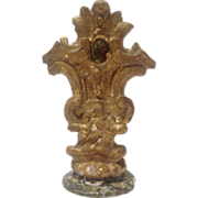 Italian Gilt Carved Wood Ornament